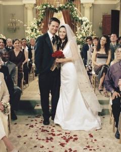 casamento chandler e monica
