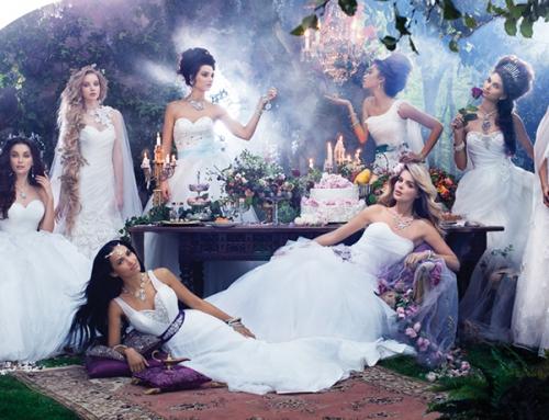 Coleção de Vestido de Noiva das Princesas da Disney