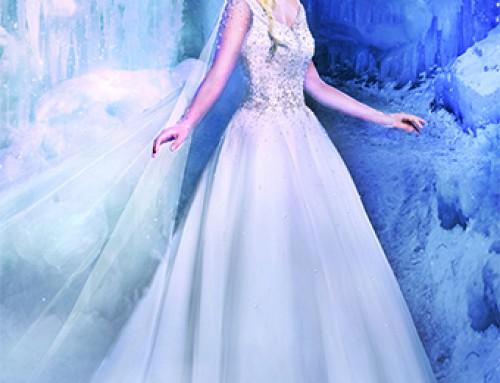 Coleção 2016 de Vestido de Noiva das Princesas da Disney