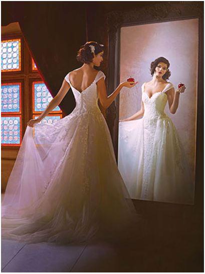 Coleção 2017 de Vestido de Noiva das Princesas da Disney